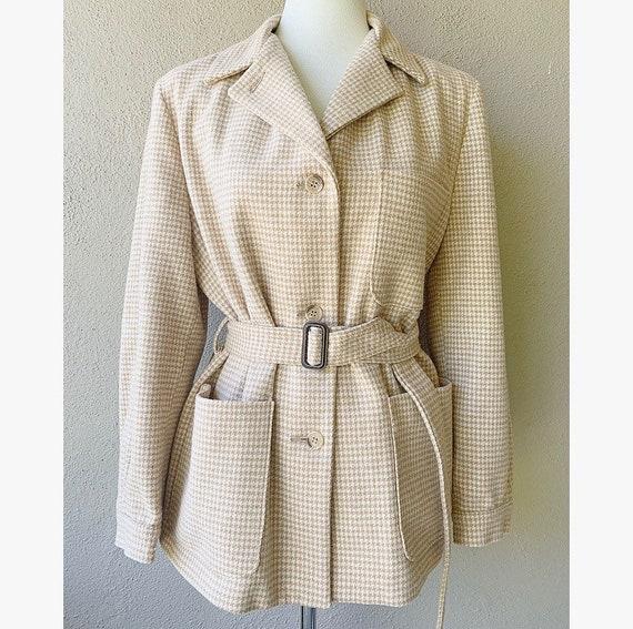 Vintage Belted Coat