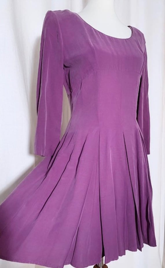 Lavender Skater Dress