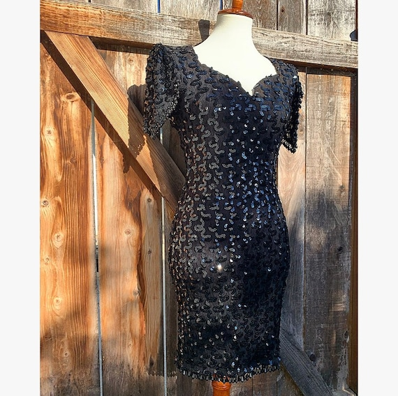 80s Sequin Dress