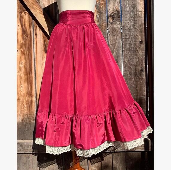 70s Gunne Sax Skirt