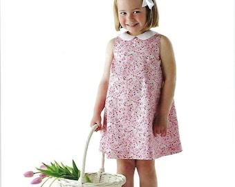 Children's Corner Sewing Pattern #238 / FRANNIE / Sizes 18 mo - 6