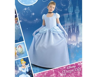 Simplicity 8490 - CHILDS and GIRLS Cinderella Costume