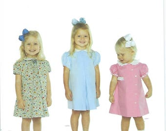 Children's Corner Sewing Pattern #15 / APRONS / Sizes 6 mos - 18 mos and 24 mos - 4