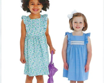 Children's Corner Sewing Pattern #301 / APRIL / Sizes 6 mo - 6 and 7 - 14