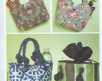 Butterick 5507 - Shopping & Lunch Bags