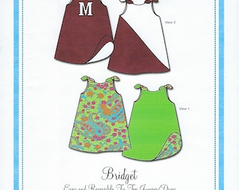 Bonnie Blue Pattern #138 / BRIDGET / Sizes 12 mo - 6 yr