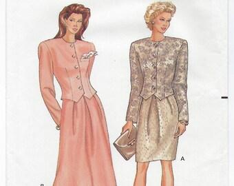 Butterick 6717 - MISSES Jacket & Skirt / Sizes 8, 10, 12