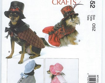 McCalls 7452 - Pet Costumes