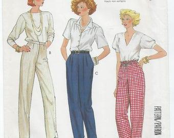 McCalls 2494 - MISSES Pants by Palmer & Pletsch