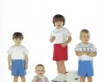 Children's Corner Sewing Pattern #7 / BASICS FOR BOYS / Sizes 3 mos - 3