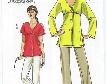 Vogue 8503 - MISSES Tunic and Pants / Sizes 8, 10, 12, 14, 16