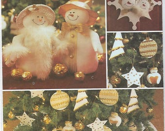 Butterick 3682 - Christmas Decorations