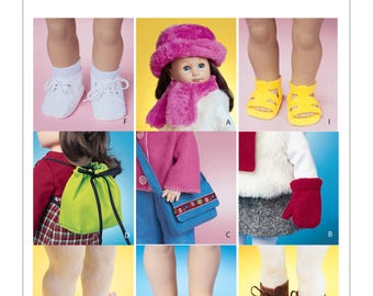 "McCalls 3469 - 18"" Doll Accessories"