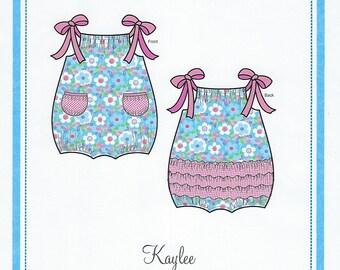 Bonnie Blue Pattern #147 / KAYLEE / Sizes 6 mo - 4 yr