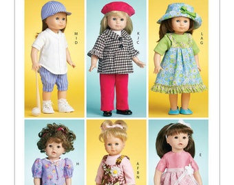 "McCalls 6137 - Doll Clothes for 18"" Doll"