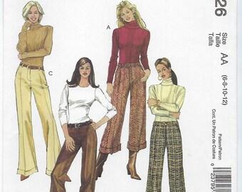 McCalls 4926 - MISSES Pants / Sizes 6, 8, 10, 12