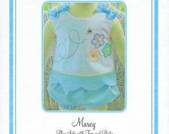 Bonnie Blue Pattern #124 / MARCY / Sizes 3 mo - 24 mo