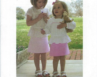 Children's Corner Sewing Pattern #265 / AINSLEY / Sizes 2 - 5 and 6 - 10