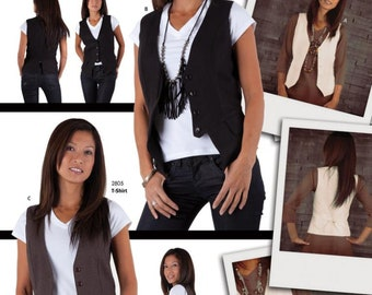 Jalie 3129 - Women's Vests / 17 sizes / Women