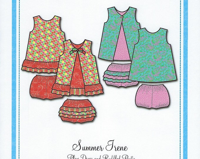 Featured listing image: Bonnie Blue Pattern #143 / SUMMER IRENE / Sizes 6 mo - 3 yr