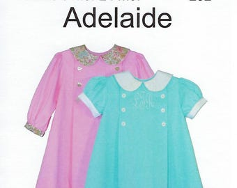Children's Corner Sewing Pattern #252 / ADELAIDE / Sizes 6 - 24 mos