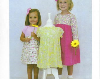 Children's Corner Sewing Pattern #268 / CECE / Sizes 6 mos - 4