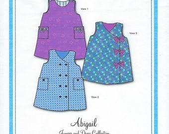 Bonnie Blue Pattern #139 / ABIGAIL / Sizes 6 mo - 8 yr