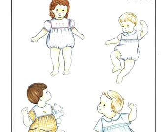 Creations by Michie' #115 / Classic Bubble / Sizes 3 - 24 mo