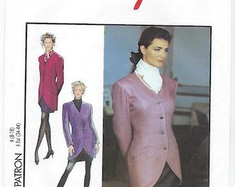 Style 1999 - MISSES Jacket & Skirt / Sizes 8, 10, 12, 14, 16, 18