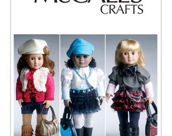 "McCalls 6480 - 18"" Doll Clothes & Accessories"