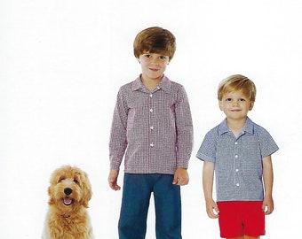 Children's Corner Sewing Pattern #297 / ROBERT / Sizes 6 mo - 6