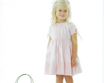 Children's Corner Sewing Pattern #298 / LILAH / Sizes 6 mo - 8
