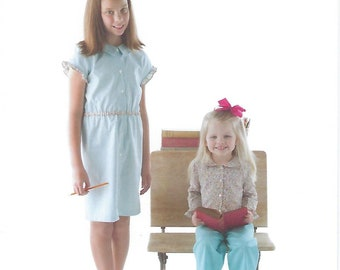 Children's Corner Sewing Pattern #290 / ALLIE / Sizes 1 - 6 and 7 - 14