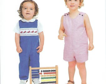 Children's Corner Sewing Pattern #260 / JOHNNY / Sizes 3 mos - 12 mos and 18 mos - 4