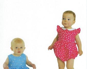 Children's Corner Sewing Pattern #299 / HARPER / Sizes 3 mo - 24 mo