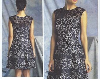Vogue 1393 - MISSES DRESS / Size 6, 8, 10, 12, 14