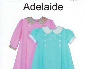 Children's Corner Sewing Pattern #252 / ADELAIDE / Sizes 6 - 24 mos