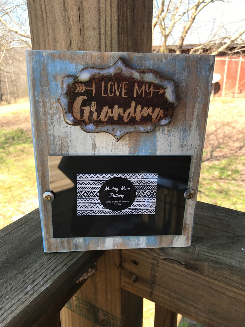 4x6 Pottery Frame w Free Shipping