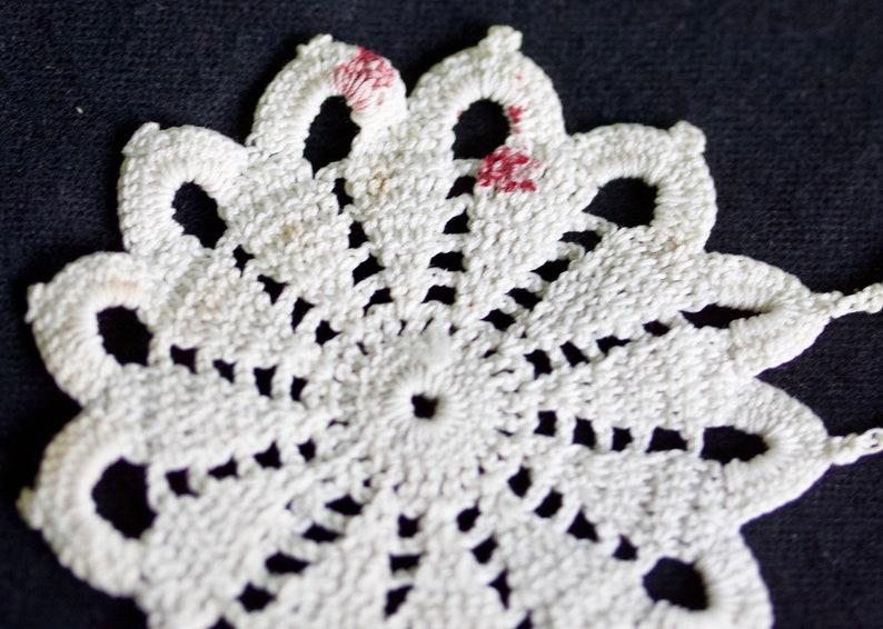 Crocheted Tray Cloth
