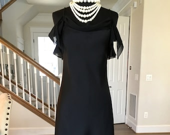 1980s Full Length Evening Gown with Train