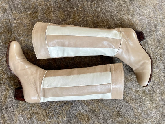 1980s Cometa Italy Leather Boots