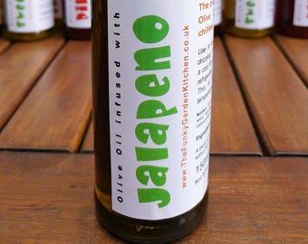 Jalapeno infused Olive Oil - 150ml