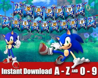 Sonic Printable Etsy