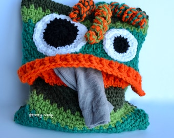 The Pyjama Monster cushion, nursery, child, bed, gift