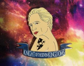 Brienne fantasy pin