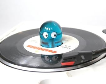 """NEW! Ghost 45 RPM Record Adapter """"Clear Blue"""""""