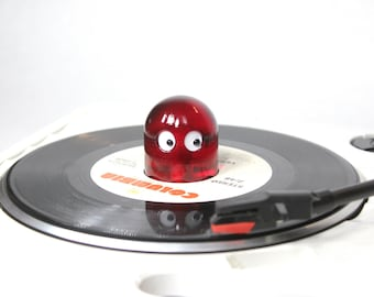 """NEW! Ghost 45 RPM Record Adapter """"Clear Red"""""""