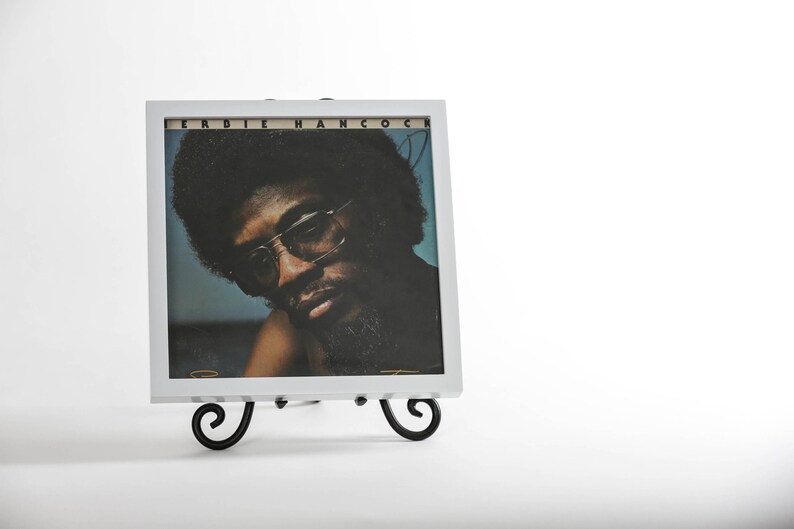 Vinyl Record/ Picture Frame Gloss White image 0