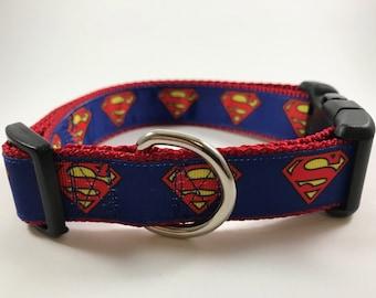 Superman Dog Collar