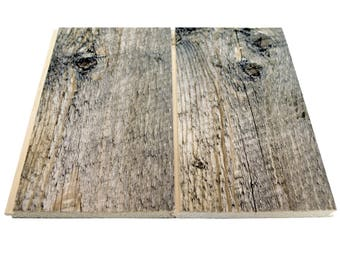 Nickel Gap Boards - 15 square foot packs - Milled from Reclaimed Snow Fence Wood